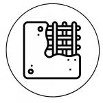 Símbolo de fijación a hormigón